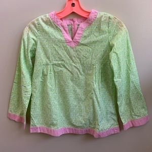 Lilly Pulitzer butterfly tunic top 10